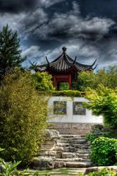 chinese garden by Drezdany-stocks