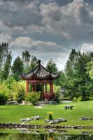 The Chinese Garden 4 by Drezdany-stocks