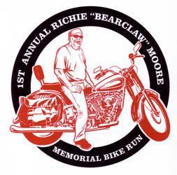 1st Annual Richie Bearclaw Moore Memorial Bike Run by LoranJSkinkis