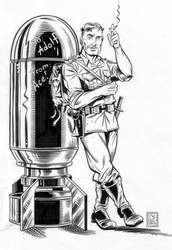 Ace Kilroy Bomb by LoranJSkinkis