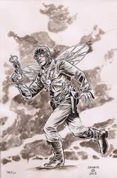 The-Fly-Noir by LoranJSkinkis