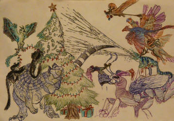 Happy Christmas!!! by SpeculaTimsauru5
