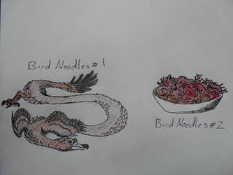 Spec Saturday - Bird Noodles by SpeculaTimsauru5
