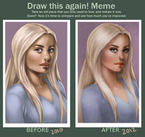 Draw this again Meme by JuneJenssen