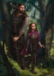Commission: Sarene and Kanderil by JuneJenssen