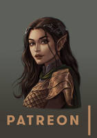 Patreon Drawing: Arwen by JuneJenssen