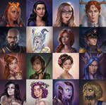 portraits by JuneJenssen