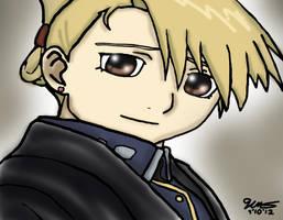 Riza Hawkeye by 11KairiMayumi11