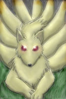 Pokemon Req. 03: Ninetails (COLORED) by 11KairiMayumi11