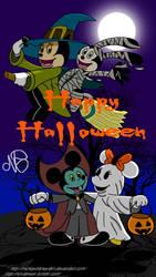 (Request) Disney Halloween by mickeydisneyfan