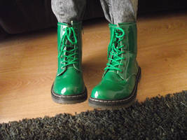 Green Boots by ditney