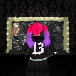 Infamous Lisa13 (Moth In Lilac) by HappyThreeCheers