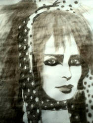 Strawberry Switchblade Jill Bryson Coffee Painting by HappyThreeCheers