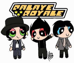 Palaye Royale as Powerpuff Girls by HappyThreeCheers