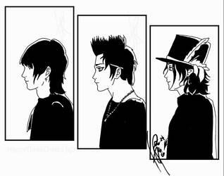 Palaye Royale Anime Style by HappyThreeCheers