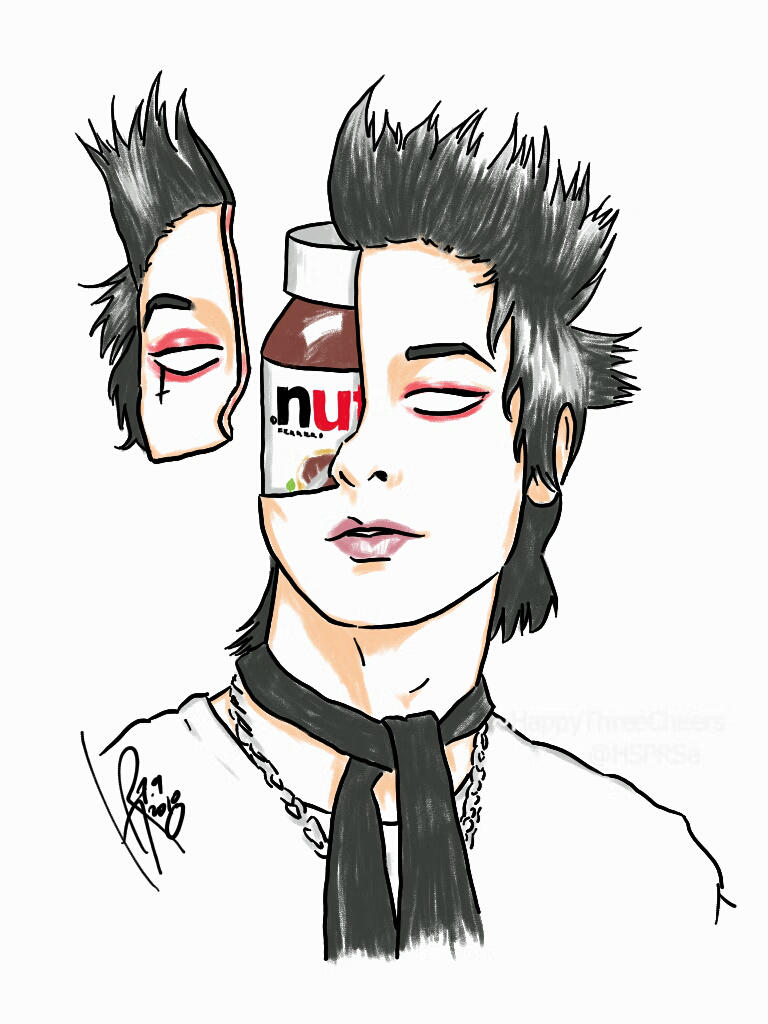 Nutella Head (Remington Leith of Palaye Royale) by HappyThreeCheers