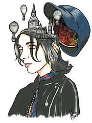 Mind Palace (Emerson Barrett of Palaye Royale) by HappyThreeCheers
