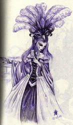 Daisy in purple by PretzlCosplay