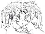 Fly on the wings of despair by PretzlCosplay