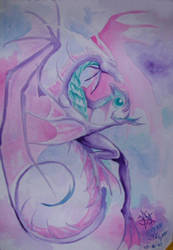 pink dragon by PretzlCosplay