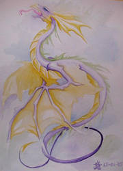 purple dragon by PretzlCosplay