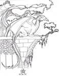 Dragon on Church Ruins by PretzlCosplay