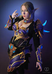 Lineage 2 Moirai armor cosplay by PretzlCosplay
