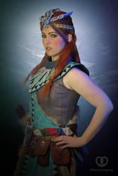 Aloy Banuk Ice hunter outfit - Horizon Zero Dawn by PretzlCosplay