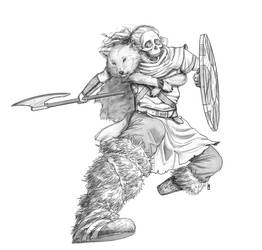 Warrior Priest by Silveraxe
