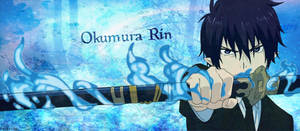 Ao No Exorcist - Cover fb Rin Okumura by Takuneru
