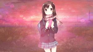 HD Wallpaper asbtra-real Warm feelings~ by Takuneru