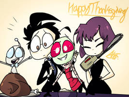 Happy Thanksgiving 2017! by MoonlightWolf17