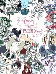 HTF - not so happy tree friends by MoonlightWolf17