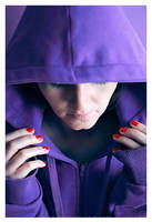 Violet hood by rutkowski