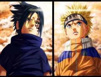 Naruto vs Sasuke by Labeeb11