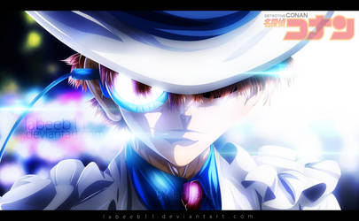 Kaitou Kid - Detective Conan Coloring by Labeeb11