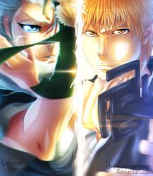 Ichigo and Toushiro - Collab by Labeeb11