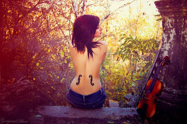 My violine world by GorgeousSilver