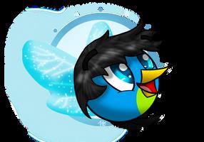 Milo the Fairy Bird (Gift) by PoppyWolfMoon