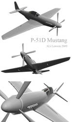 P-51D Mustang by TheStarLi