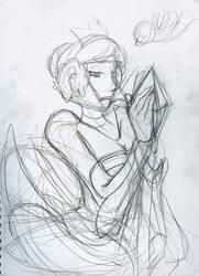 Gwendolyn Rough Sketch by TheStarLi