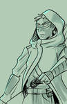 Green Arrow sketch by TheStarLi
