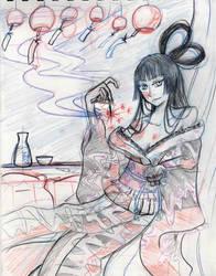 Yuuko Painting progress by TheStarLi