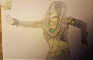 D'Vorah Mortal kombat by kestovaari