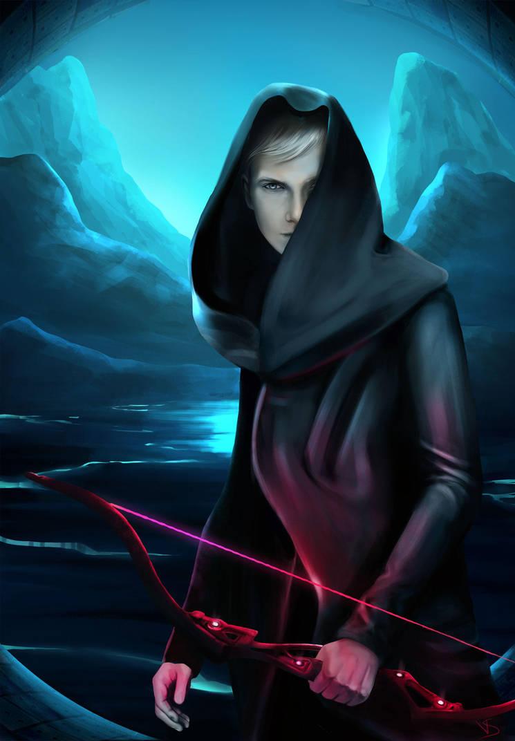 Cyberpunk-archer by ValenteS