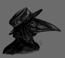Plague Doctor  by PyroTheWolf42