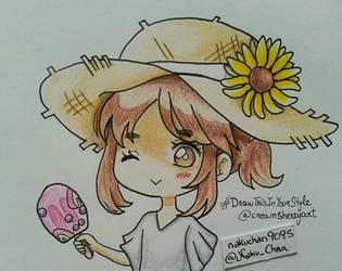 #Drawthisintyourstyle Creamsherryart by nakuchan9095