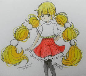 #Drawthisisyourstyle angelmiico by nakuchan9095