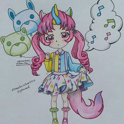 #Drawthisinyoustyle yiruneul by nakuchan9095