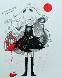 #Drawthisinyour style Nanomortis by nakuchan9095